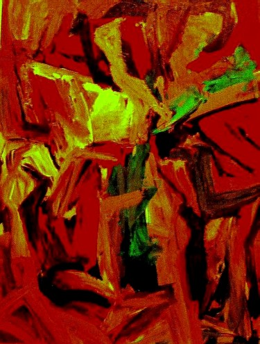 """Painting titled """"Woman stganding (Si…"""" by Peter Jalesh, Original Art, Acrylic"""