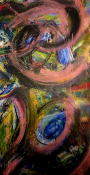 """Painting titled """"Clouds"""" by Peter Jalesh, Original Art, Acrylic"""
