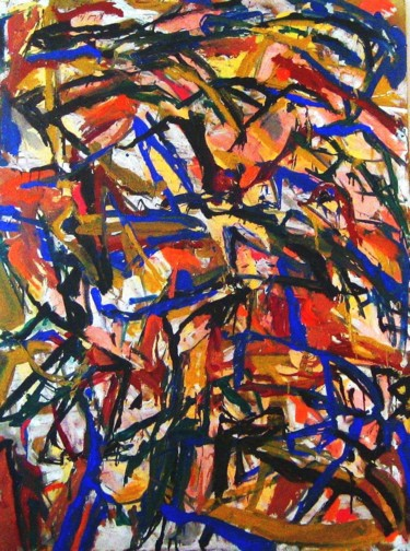 """Painting titled """"Broken branches (48…"""" by Peter Jalesh, Original Art, Acrylic"""