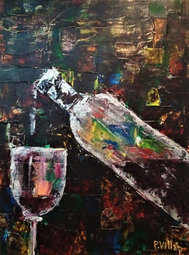 """Painting titled """"One drop is a lot"""" by Pepe Villan, Original Art, Acrylic"""