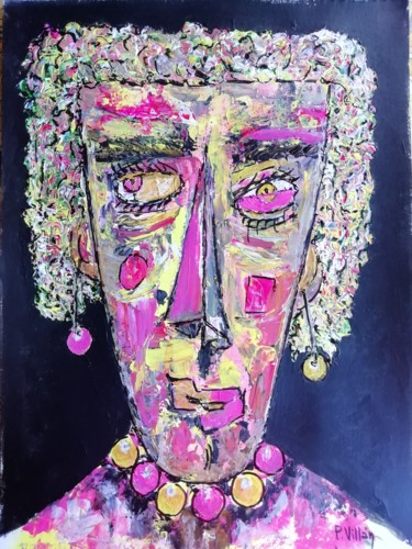 """Painting titled """"I'm not a lot.. of…"""" by Pepe Villan, Original Art, Acrylic"""