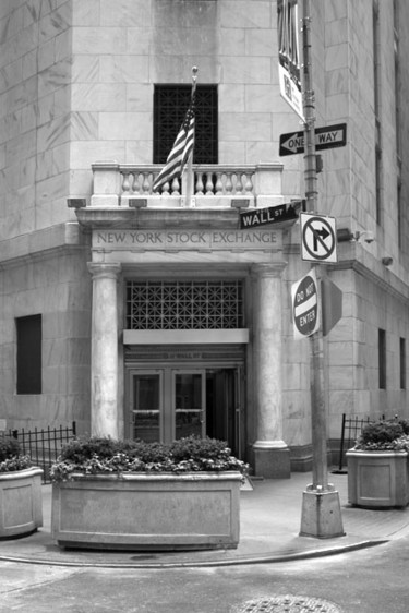 """Photography titled """"NYSE"""" by Pfister, Original Art,"""