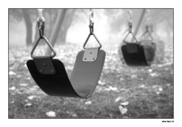 """Photography titled """"Swings"""" by Pfister, Original Art,"""