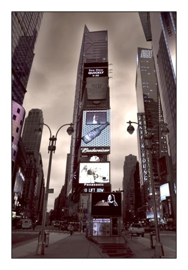 """Photography titled """"Times Square"""" by Pfister, Original Art,"""