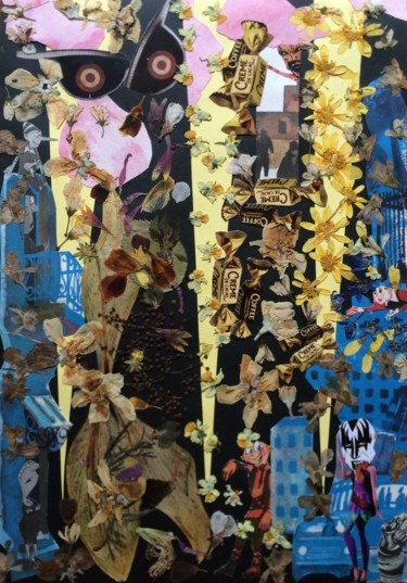 """Collages titled """"Is anybody here...?…"""" by Phil Colisov, Original Art, Other"""