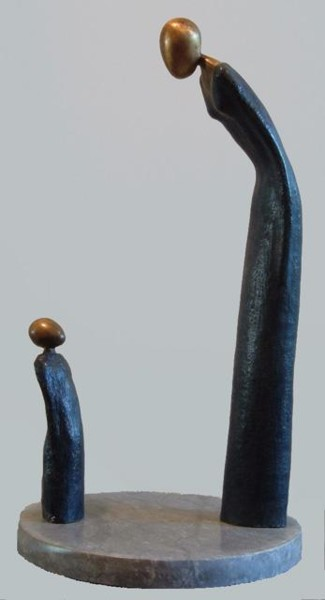 Sculpture, metals, artwork by Philippe Olive