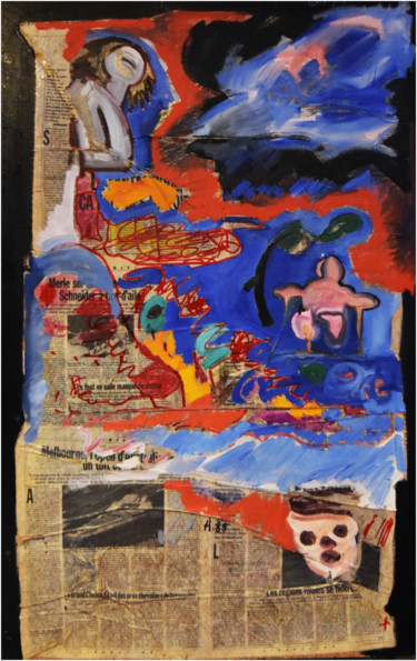 39.4x25.6x0.4 in ©1989 by Philippe ALLIET