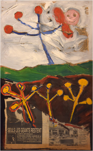 39.4x25.6x0.4 in ©1988 by Philippe ALLIET