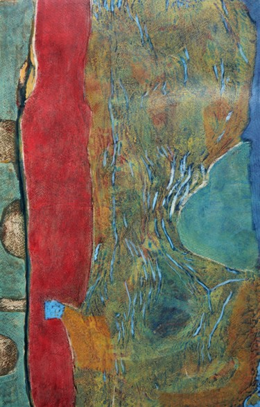 """Painting titled """"Solymes"""" by Philippe Casaubon, Original Art, Oil"""