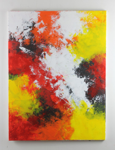 """Painting titled """"Achille"""" by Patrice Varlet, Original Art, Acrylic"""
