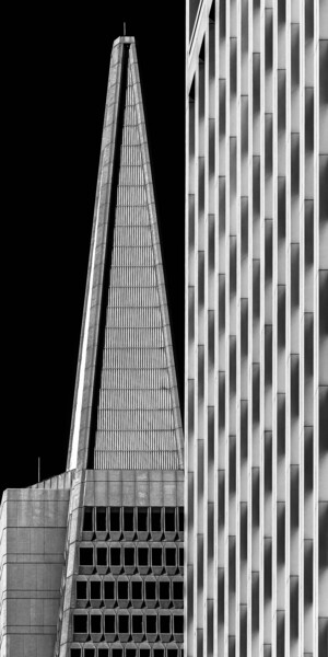 """Photography titled """"San Francisco - Ele…"""" by Pierre Nadler, Original Art, Manipulated Photography Mounted on Other rigid pan…"""
