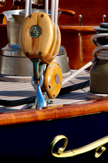 """Photography titled """"Poulie yachting"""" by Pierre-Yves Rospabé, Original Art, Digital Photography"""
