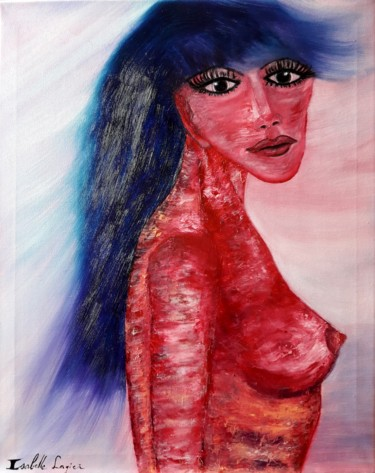 19.7x15.8x0.6 in ©2018 by Isabelle Lagier (Pinkivioletblue Art®)
