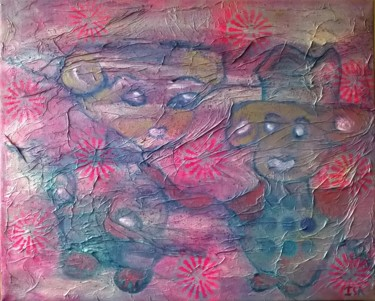 15.8x19.7x0.6 in ©2016 by Isabelle Lagier (Pinkivioletblue Art®)