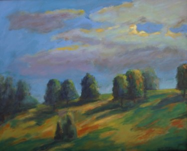 """Painting titled """"Summer evening in G…"""" by Piotr, Original Art,"""