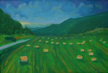 """Painting titled """"Wisconsin impression"""" by Piotr, Original Art,"""