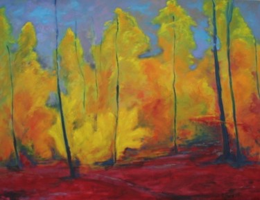 """Painting titled """"Indian Summer 2"""" by Piotr, Original Art,"""