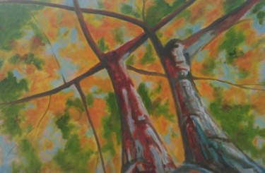 """Painting titled """"The Twins"""" by Piotr, Original Art, Oil"""