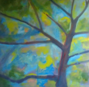 """Painting titled """"the-great-streak-in…"""" by Piotr, Original Art, Oil"""