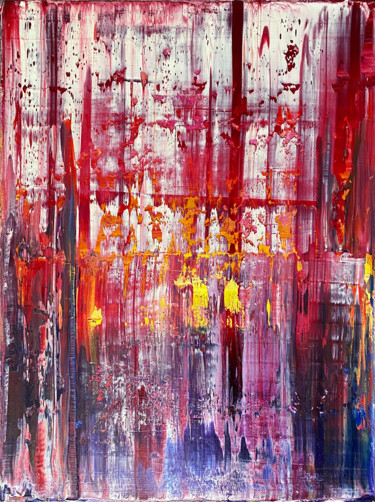 Color Painting, oil, abstract, artwork by Pms Artwork