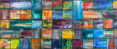 """Painting titled """"All Squared Away"""" by Preston M. Smith (PMS), Original Art, Oil"""