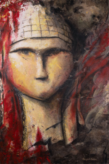 """Painting titled """"Victim or Perpetrat…"""" by Patrizia A. Salles, Original Art, Acrylic"""