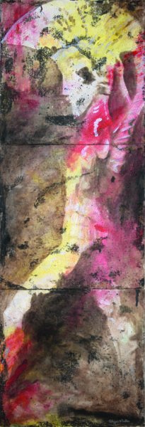 """Painting titled """"Etruscan Warrior -…"""" by Patrizia A. Salles, Original Art, Acrylic"""