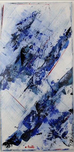 Color Painting, acrylic, abstract, artwork by Punto