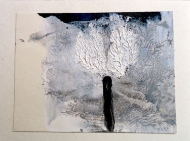 """Painting titled """"the penguin behind…"""" by Q.Mumu, Original Art,"""