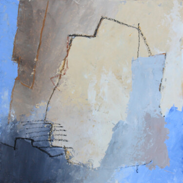 """Painting titled """"LM13"""" by Daniel Quievreux, Original Art, Acrylic Mounted on Stretcher frame"""