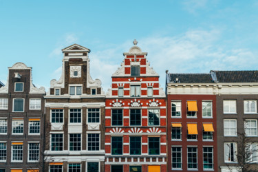 Beautiful Dutch Houses Architecture In Amsterdam Photography By Radu