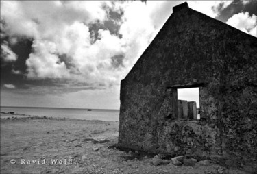 """Photography titled """"Slave hut in Bonaire"""" by Ravid Wolff, Original Art,"""