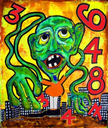 14x11 in ©2010 by Outsider Artist