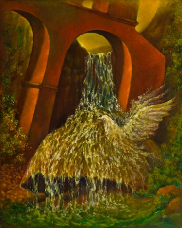 """Painting titled """"Birth of Freedom (N…"""" by Art -Lsedra, Original Art, Oil"""