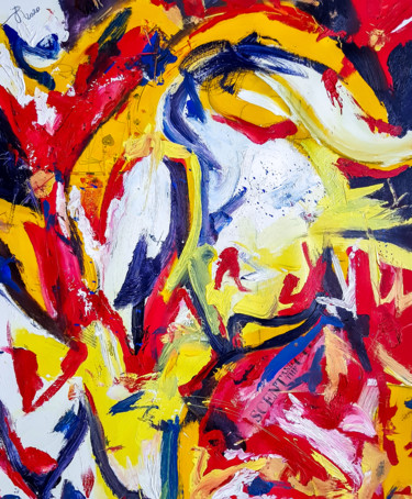 """Painting titled """"Scent N-1. Abstract…"""" by Retne, Original Art, Oil"""