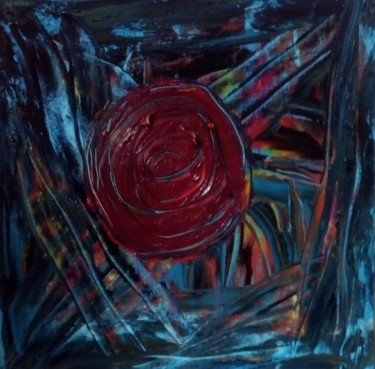 Abstract Painting, oil, abstract, artwork by Rex Agnusdei