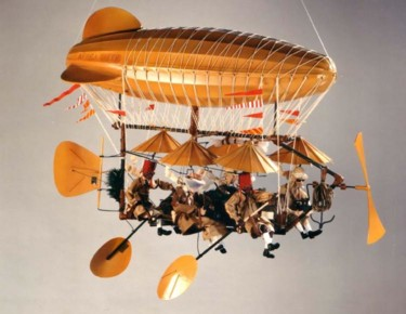 25.6x19.7x47.2 in ©2004 by Serge & Claudia Reynaud-Marchesin (Art of Flying)