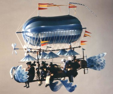 23.6x31.5x39.4 in ©2006 by Serge & Claudia Reynaud-Marchesin (Art of Flying)