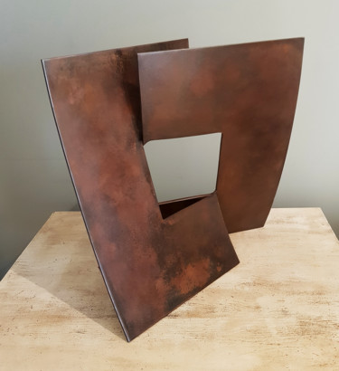 """Sculpture titled """"Geometric fases"""" by Ricky Reese, Original Art, Metals"""