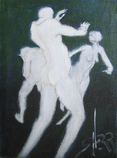 """Painting titled """"what-game-fmnp89."""" by Richard Herr, Original Art, Acrylic"""