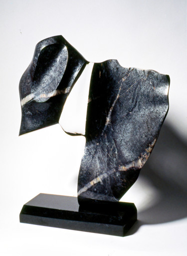 Abstract Sculpture, stone, abstract, artwork by Robert Winslow