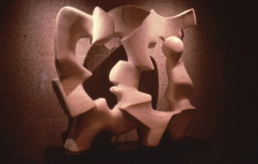 Esotericism Sculpture, stone, abstract, artwork by Robert Winslow