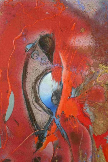 """Painting titled """"DETAIL"""" by Robin Mols, Original Art,"""