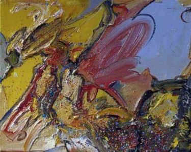 """Painting titled """"Maxed-Out"""" by Robin Mols, Original Art, Oil"""