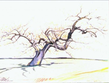 """Drawing titled """"the_tree_Untitled-2…"""" by Robin Mols, Original Art,"""