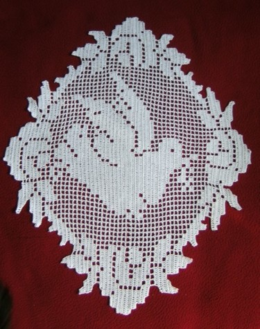 21.3x16.5 in ©2020 by Art Création Crochet Tricot