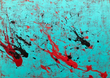 50x70x2 cm ©2018 by ro.abstract