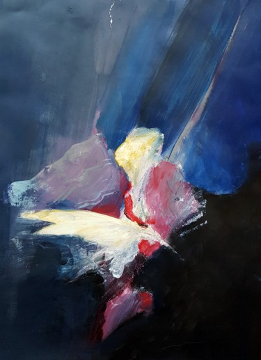 Painting, acrylic, abstract, artwork by Rosemay