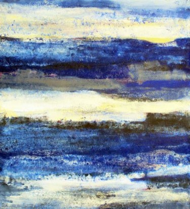 """Painting titled """"The Steely Skies"""" by Roberto Rotondo, Original Art, Oil"""