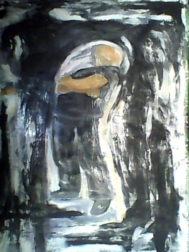 """Painting titled """"overnight"""" by Roussetos Sigalas, Original Art, Oil"""